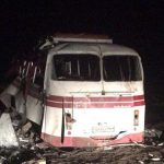 Водитель подорвавшегося автобуса «Артемовск-Горловка» может сесть в тюрьму на 8 лет