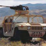 В Украину прибыли первые десять бронированных автомобиля Хамви из США