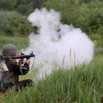 Из-за артобстрелов ГАИ перекрыло две автодороги из Донецка
