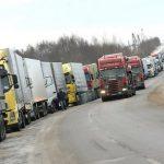 На границе Беларуси и Литвы ожидают выезда до 600 грузовиков