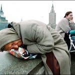 В России резко растет количество бедных