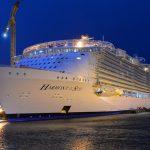 Во Франции проходит испытания крупнейший круизный лайнер в мире