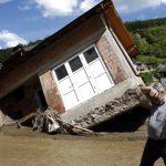 В связи с наводнением в Сербии введен режим ЧС