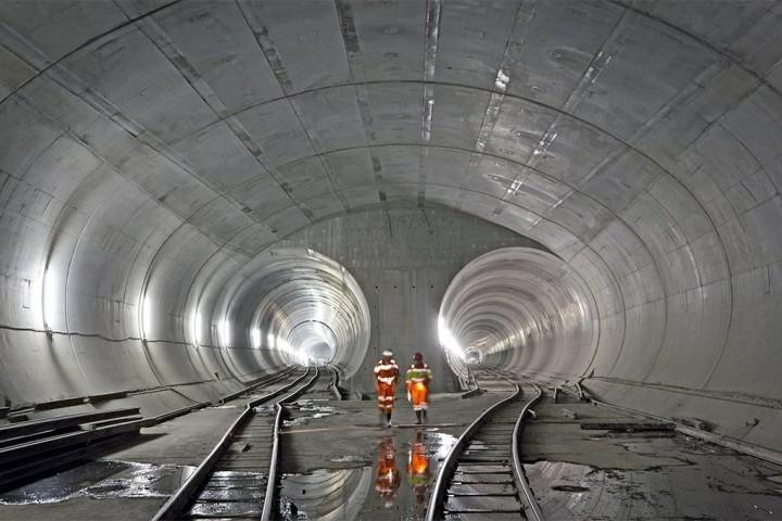 Готардский тоннель
