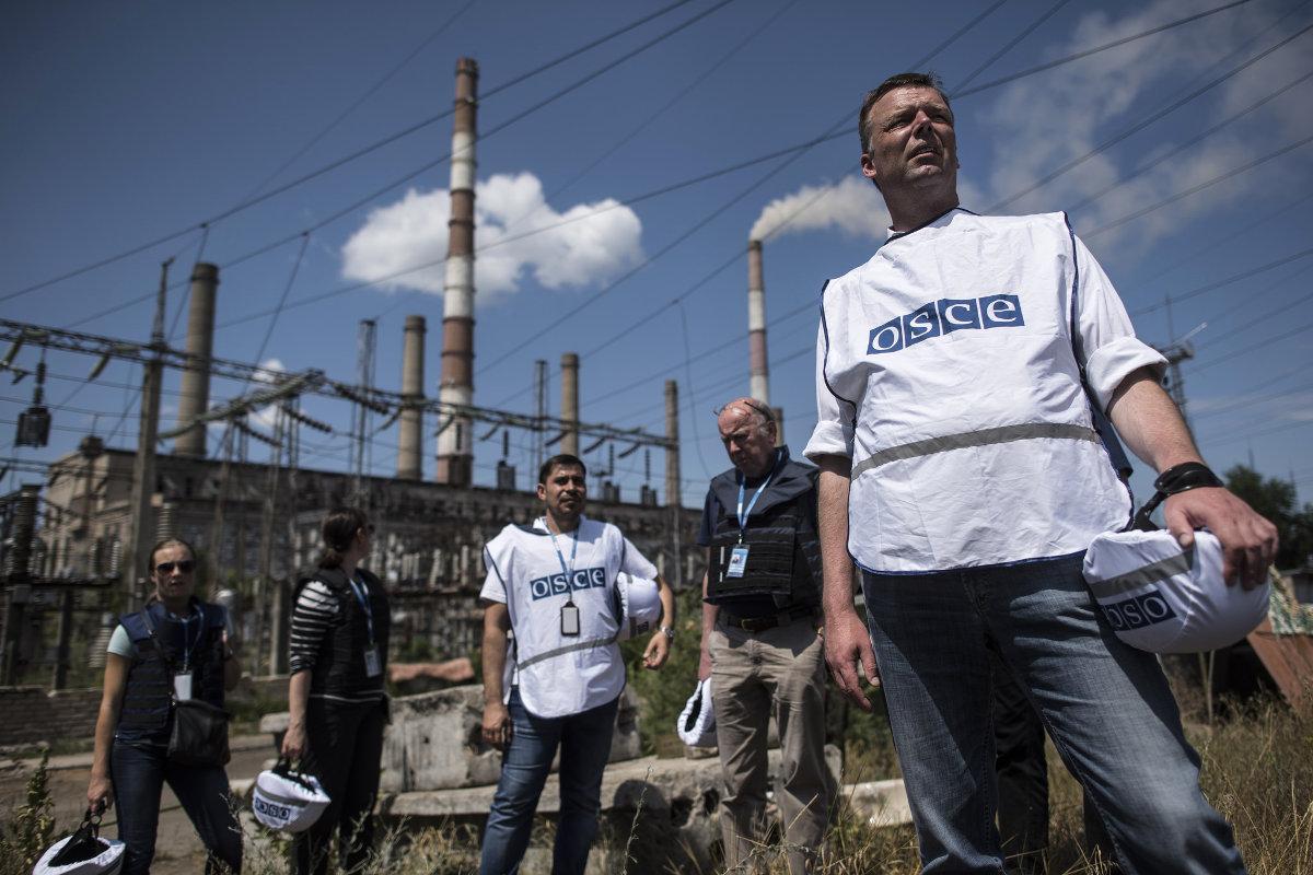 ОБСЕ: Наблюдателям угрожают обе стороны конфликта
