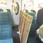 В Лондоне в вагоне поезда на головы пассажиров упал потолок