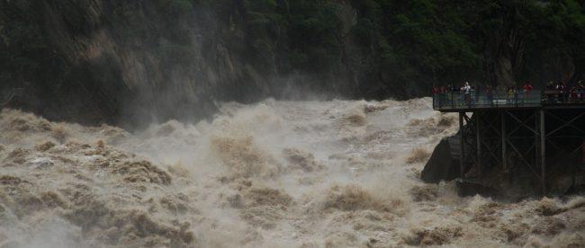 Наводнение КНДР