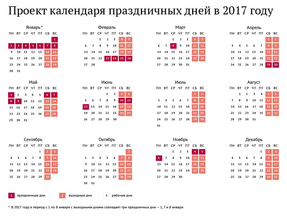 Календарь на 20017 год распечатать