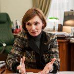 Екатерина Рожкова и Оксана Маркарова выясняют «коррупционные отношения»