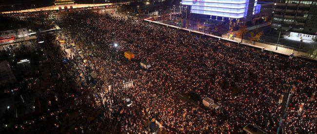 Майдан в Сеуле