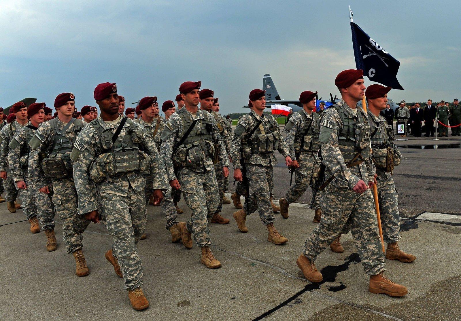 Американские военные в Польше