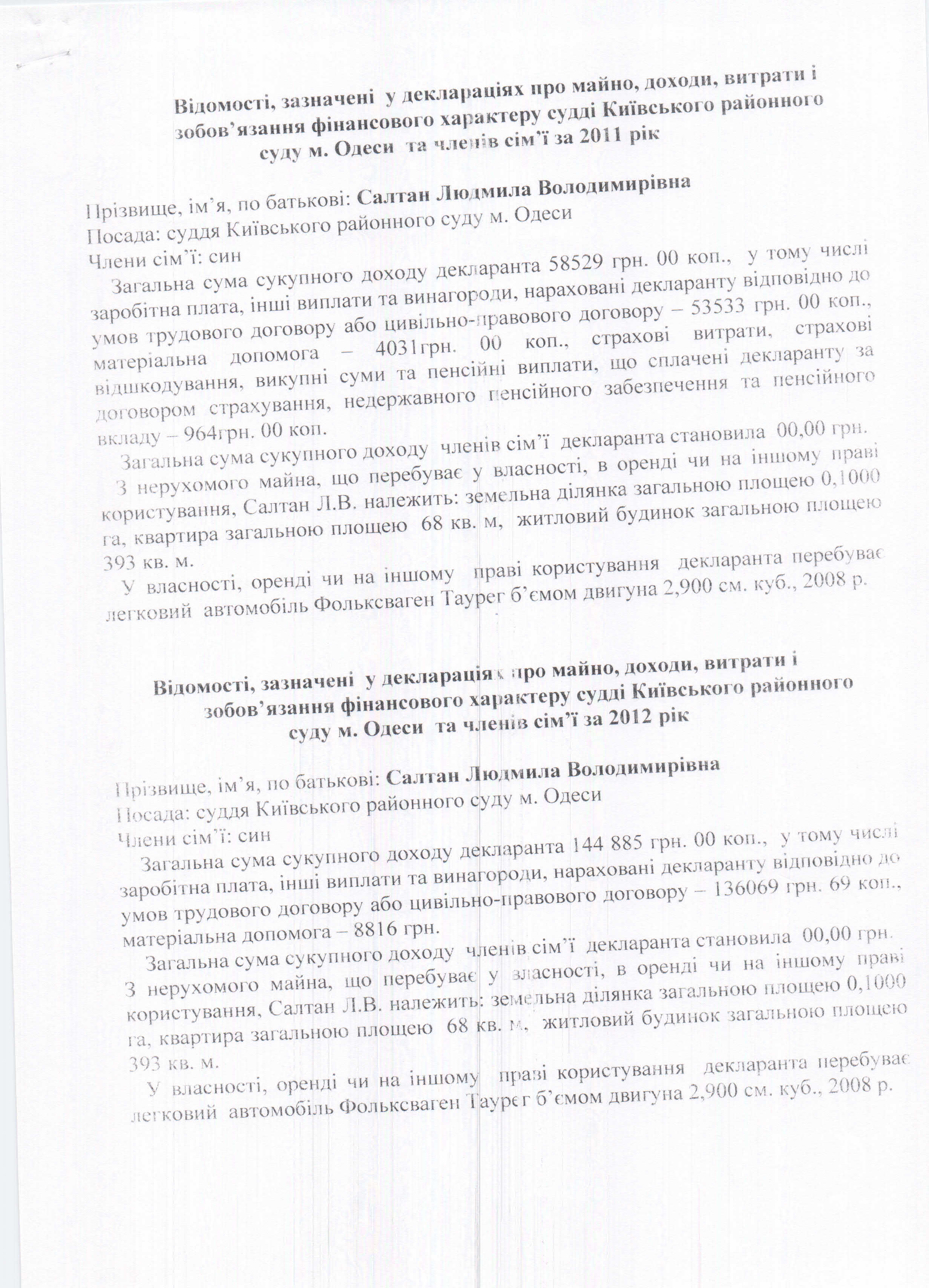 Людмила Салтан судья