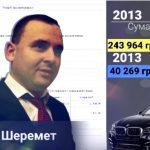 Юрій Шеремет та його корупція: керівник внутрішньої безпеки ДФС нічого не знає про майно власної родини
