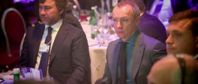 Александр Луканов со слугой Путина