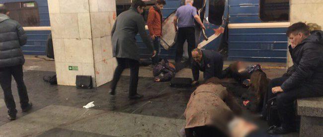 Санкт-Петербург взрыв