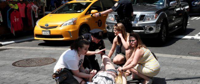 Авария на Таймс-сквер