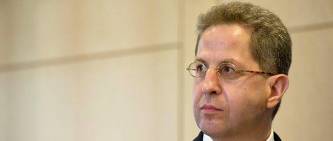 Глава немецкой контрразведки Ханс-Георг Маасен