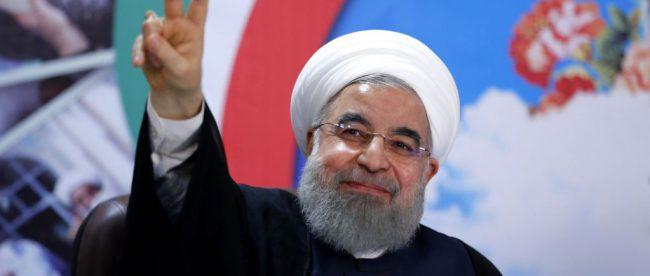 Действующий президент Ирана Хасан Роухани