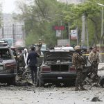 Мощный взрыв у посольства ФРГ в Кабуле