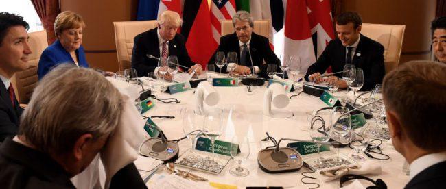 Саммит Большой семерки в Таормине