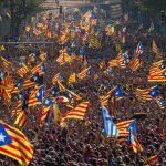 В Каталонии проходят акции в поддержку референдума о независимости