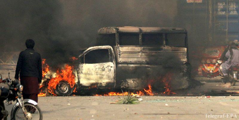 Столкновения в Пакистане