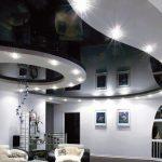 Натяжные потолки в эклектичных трендах 2018