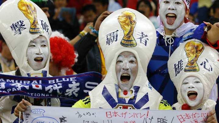 Матч Украина-Япония
