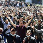 В Армении люди вновь вышли на массовые протесты