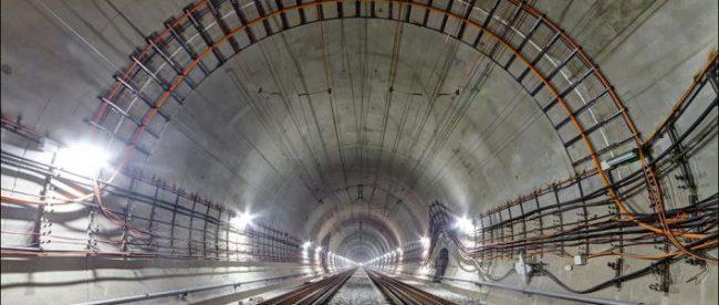 Открытие Бескидского тоннеля