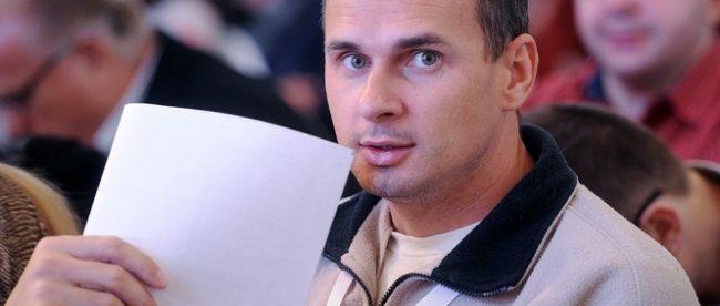 Украинский режиссер Олег Сенцов