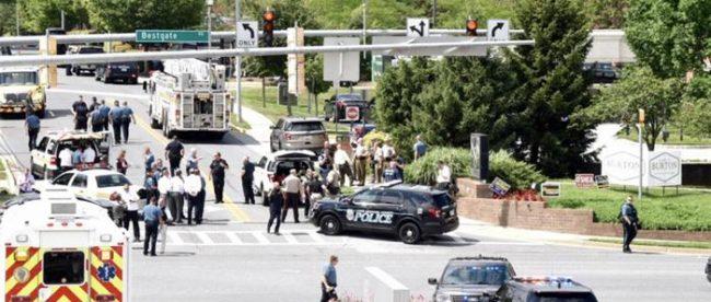 Полиция возле редакции газеты