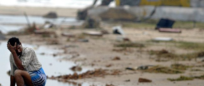 Разрушения в результате землетрясения на острове Ломбок