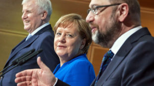 Христианско-демократический союз (ХДС) и ее партнер - баварский Христианско-социальный союз (ХСС)