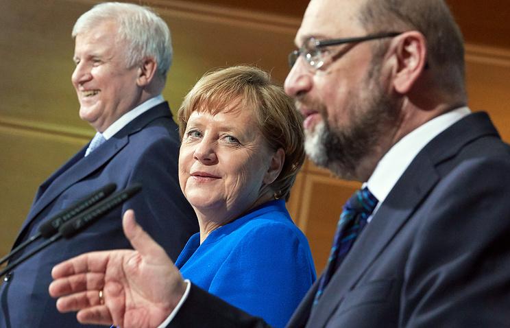 Христианско-демократический союз (ХДС) и ее партнер — баварский Христианско-социальный союз (ХСС)