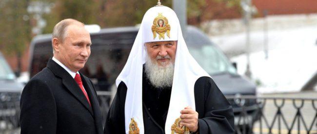 Путин и Московский патриарх