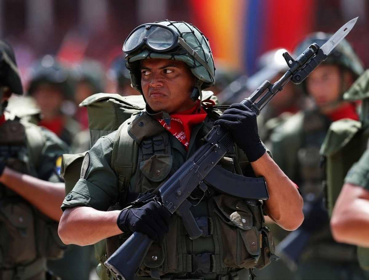 Силовики из Венесуэлы