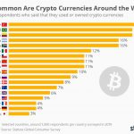 Опрос Statista: в Латинской Америке и Турции больше всего держателей криптовалюты