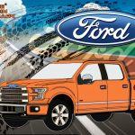 Новый электрический пикап Ford потянул за собой грузовые вагоны весом более 450 тонн