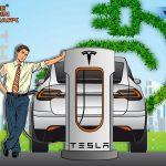 Tesla Model 3 теперь полностью без кожи, включая руль