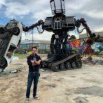 Гигантский человекоподобный боевой робот Eagle Prime выставлен на аукцион