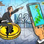Цена на Bitcoin взлетела на 42% за сутки – это лучший результат с 2011 года