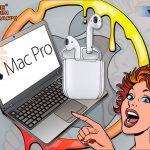 Apple может выпустить новый MacBook Pro вместе с AirPods 3