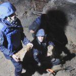Возле Шулявского моста в Киеве нашли сотню снарядов, мины и гранату (ФОТО)