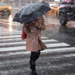 Мокрый снег и заморозки: погода на воскресенье