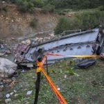 В Тунисе автобус упал с горы. 24 человека погибли