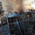 Из-под завалов Одесского колледжа достали еще одно тело. Число погибших возросло до 5