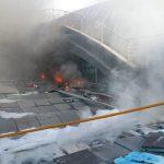 В испанском аэропорту произошел пожар: людей эвакуировали
