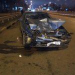 Иностранный студент на «евробляхе» разбил авто депутата Харьковского горсовета