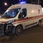 В Харькове «скорая помощь» попала в ДТП
